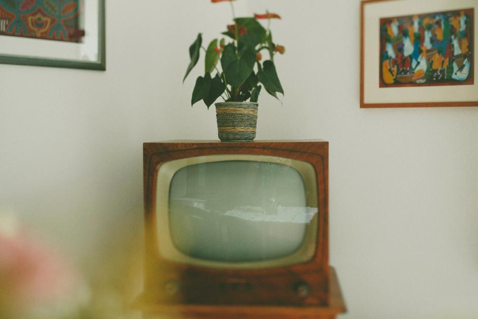il primo televisore arrivato nel paese di Dorgali