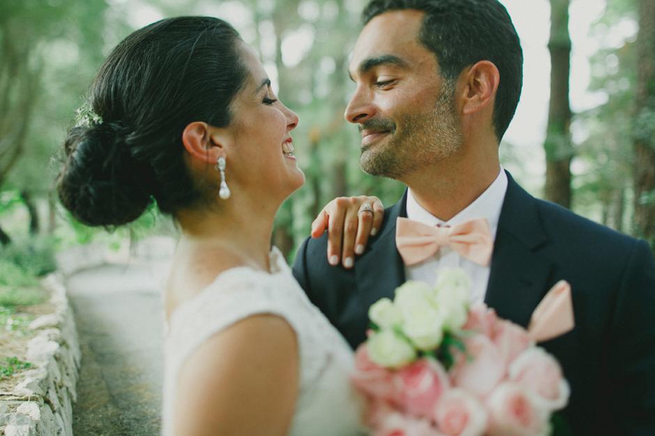 bride and groom in sardinia