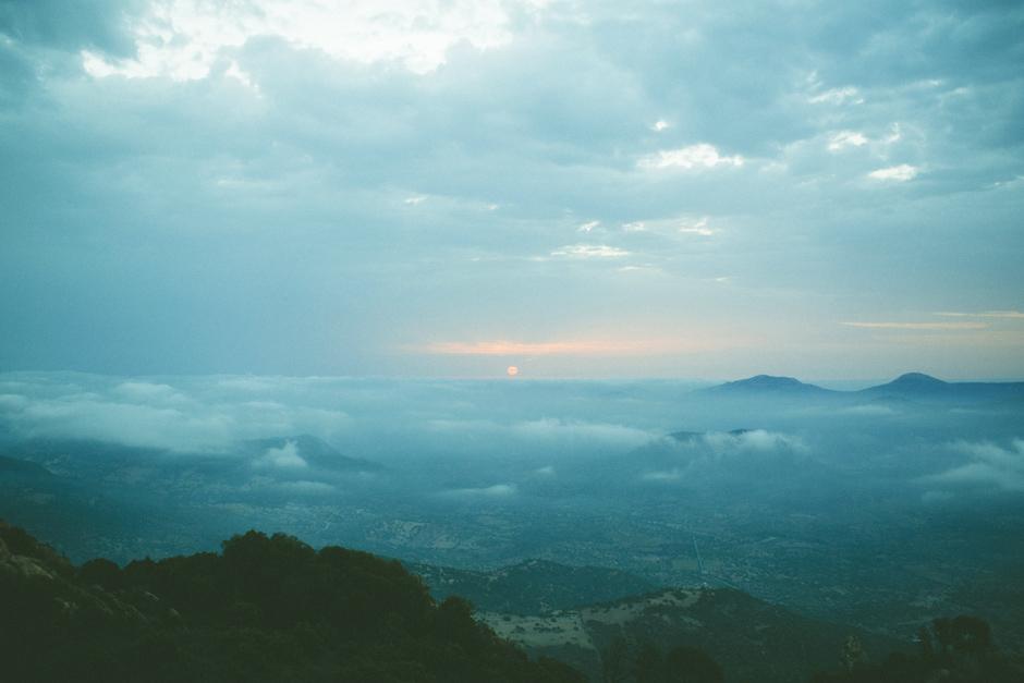 francesca floris l'alba vista dal monte ortobene