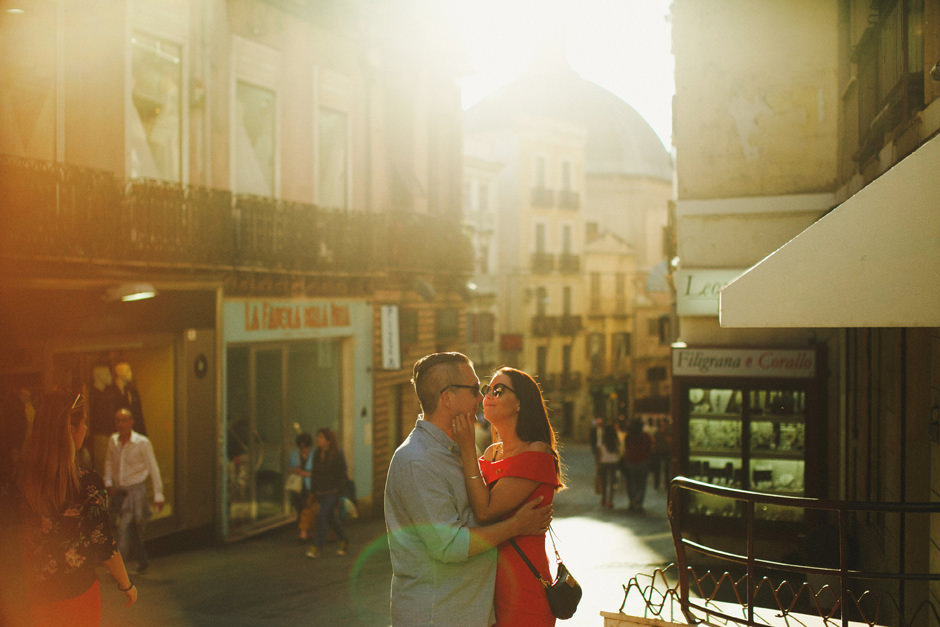 Cagliari Via Manno street Photography