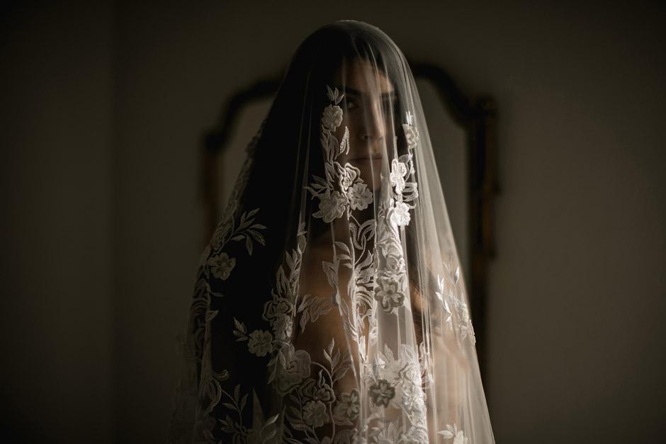 amazing veil Atelier Piras 1953
