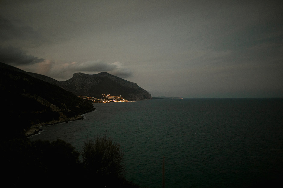 Cala Gomone View at night
