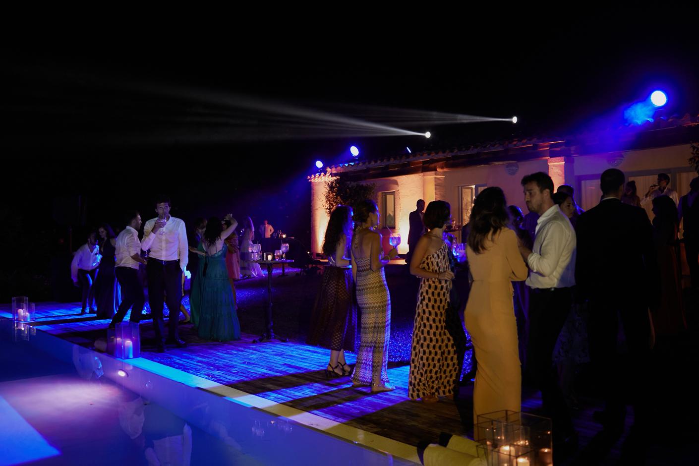 festa in piscina  - San Pantaleo Costa Smeralda