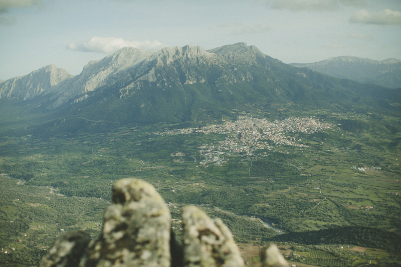 amazing view from Monte Ortobne
