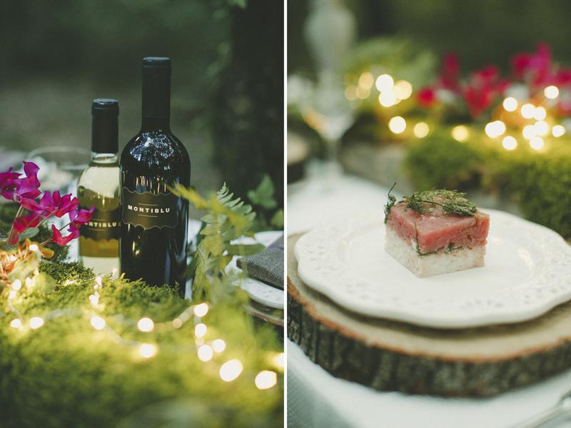catering wedding sardinia Montiblu