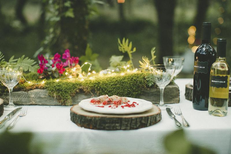 country wedding dinner sardinia