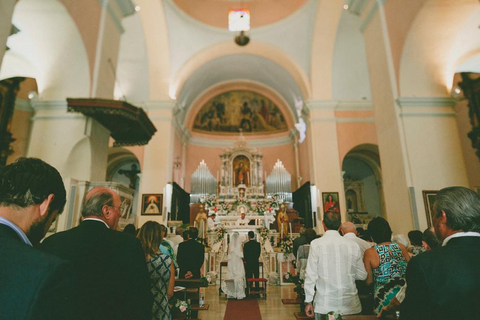 la chiesa di Dorgali