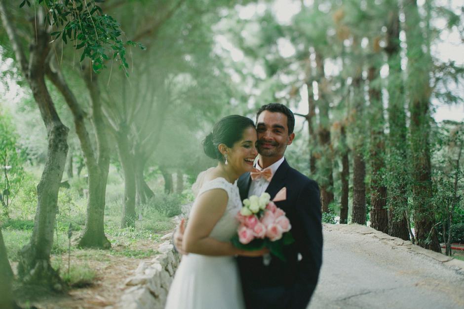 gli Sposi Francesca e Rogelio