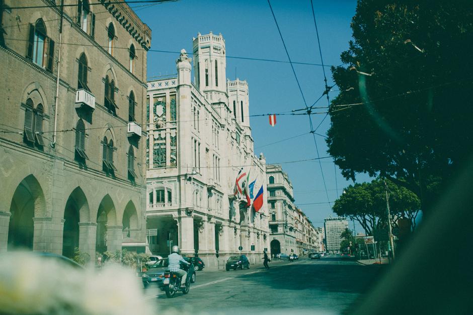 via Roma Cagliari Sardinia