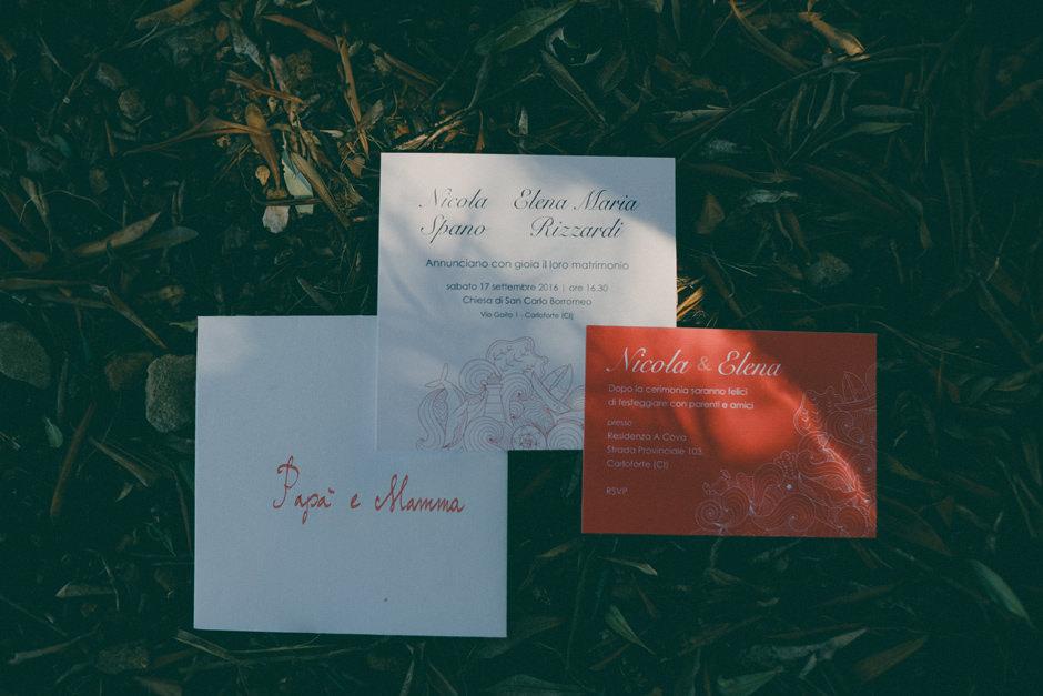 Elena and Nicola invitation