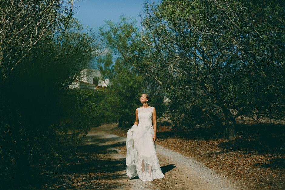 Bride portrait at Carloforte's Island