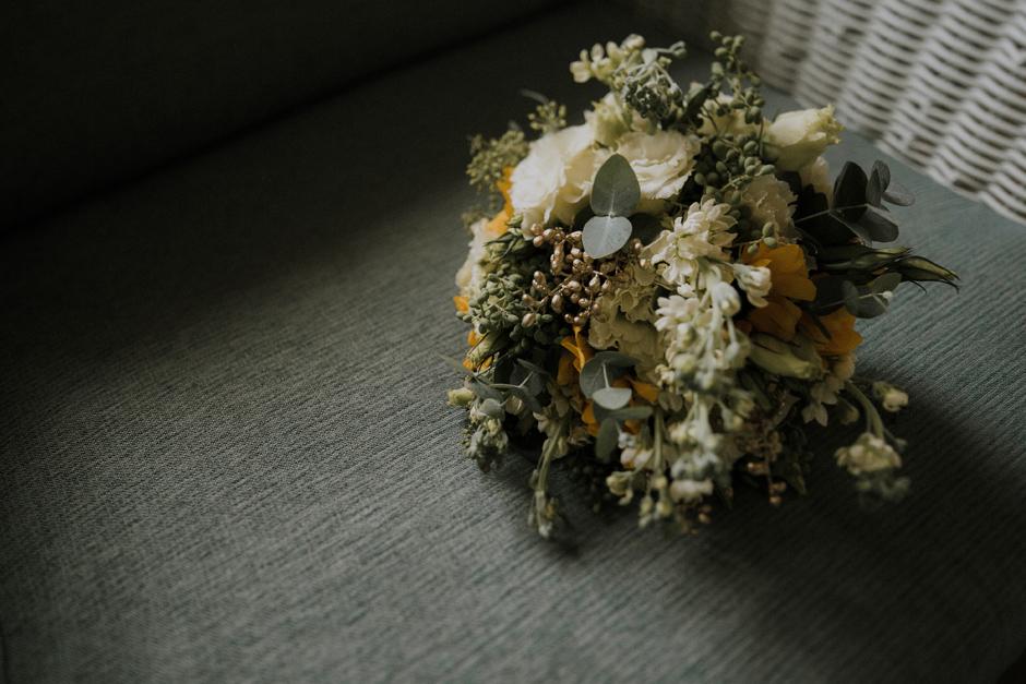 beautiful modern bouquet