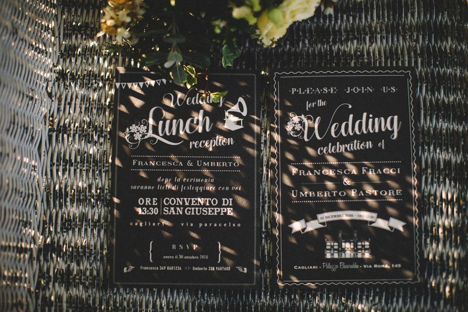 Alternative and creative Wedding Invitation