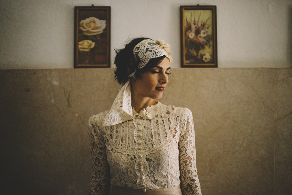 Bride Portrait - Bridal Designer Elisabetta Delogu