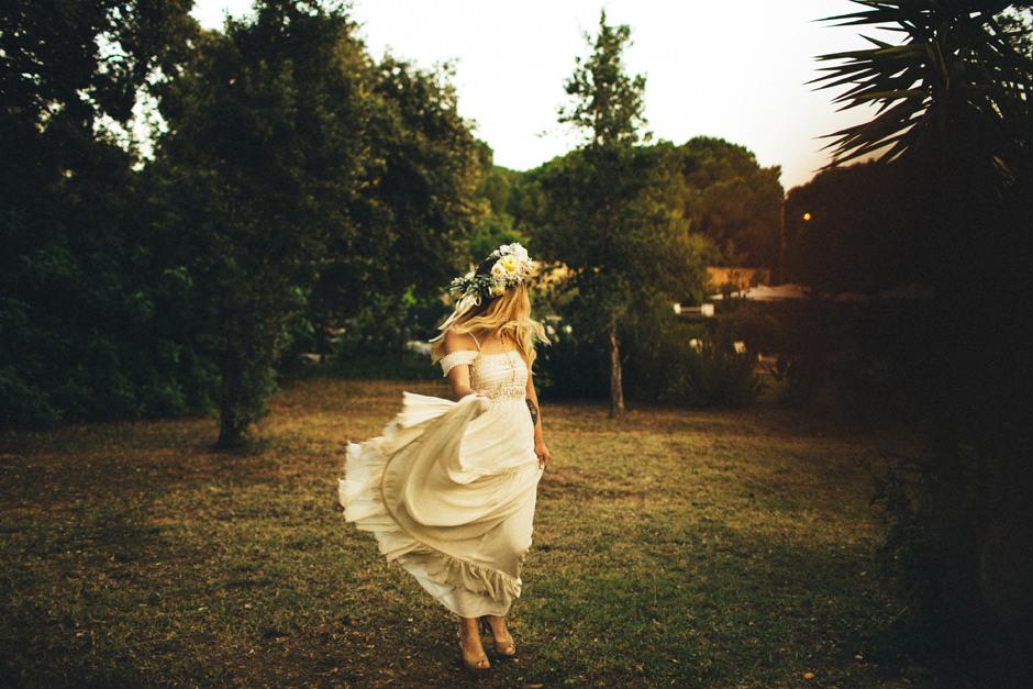 Boho Chic Bride - Francesca Floris Photographer
