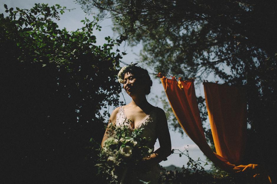 ritratto della sposa Francesca Floris