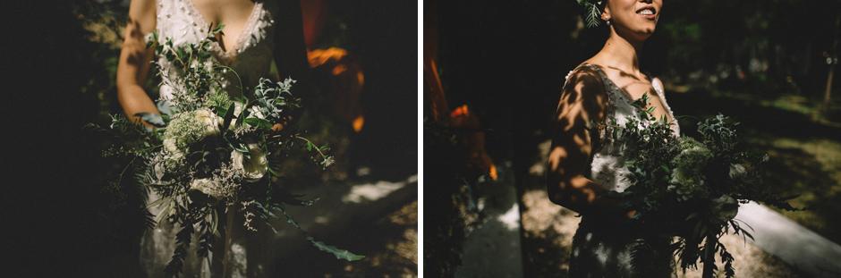 il bellissimo bouquet di Andrea