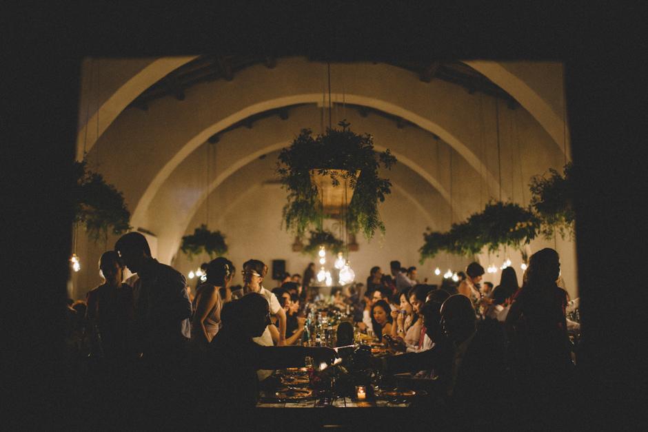 cena di matrimonio presso Hotel Su Gologone