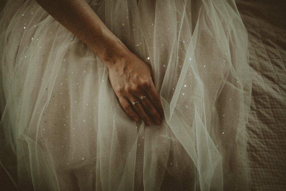 sparkly Bridal dress