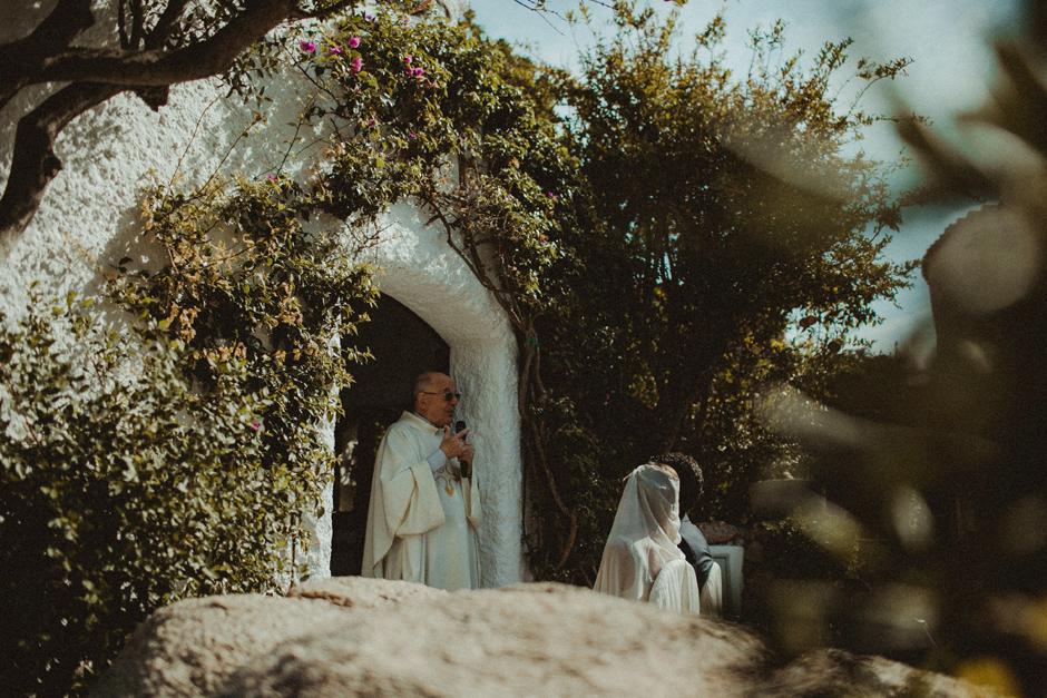 l'omelia durante il matrimonio di Caterina ed Enrico