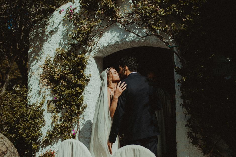 il primo bacio di Caterina e Enrico