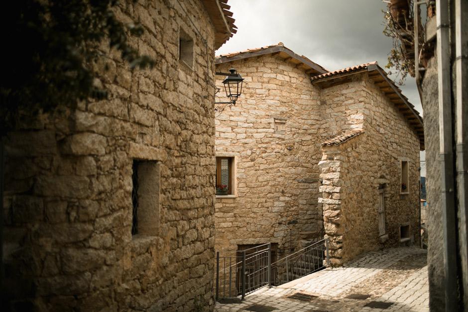 Olzai Sardinia