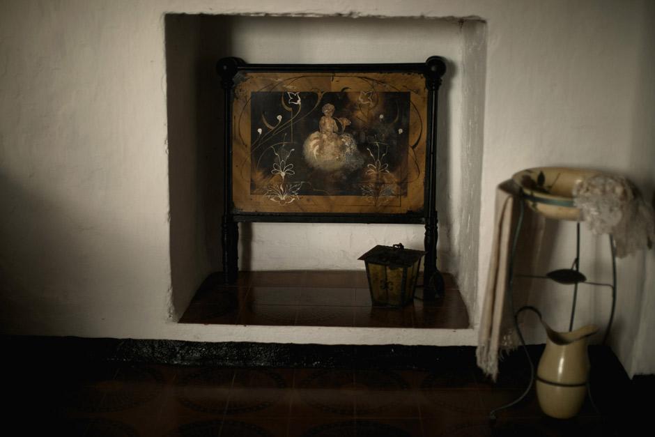 Detail inside casa Pintor