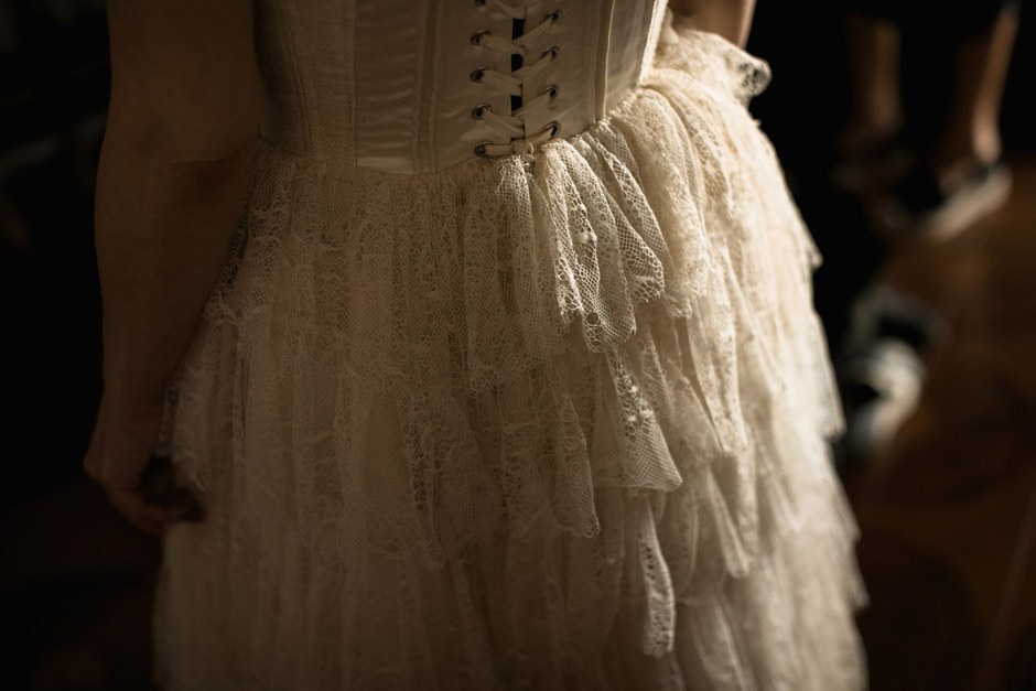 Elisabetta Delogu dress detail
