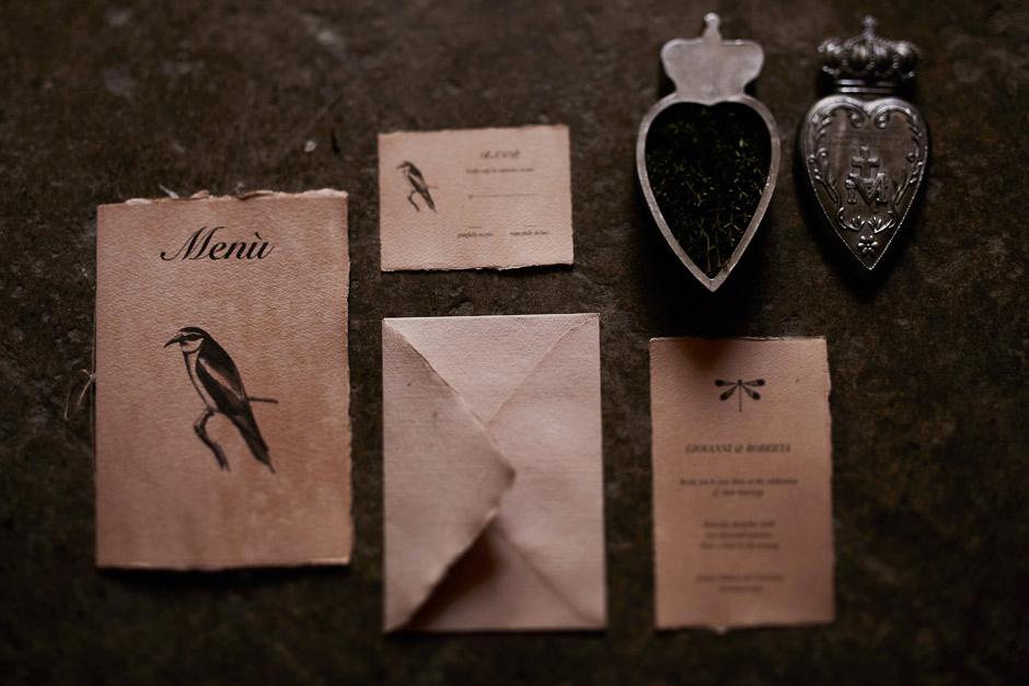wedding stationery by maniche postcards