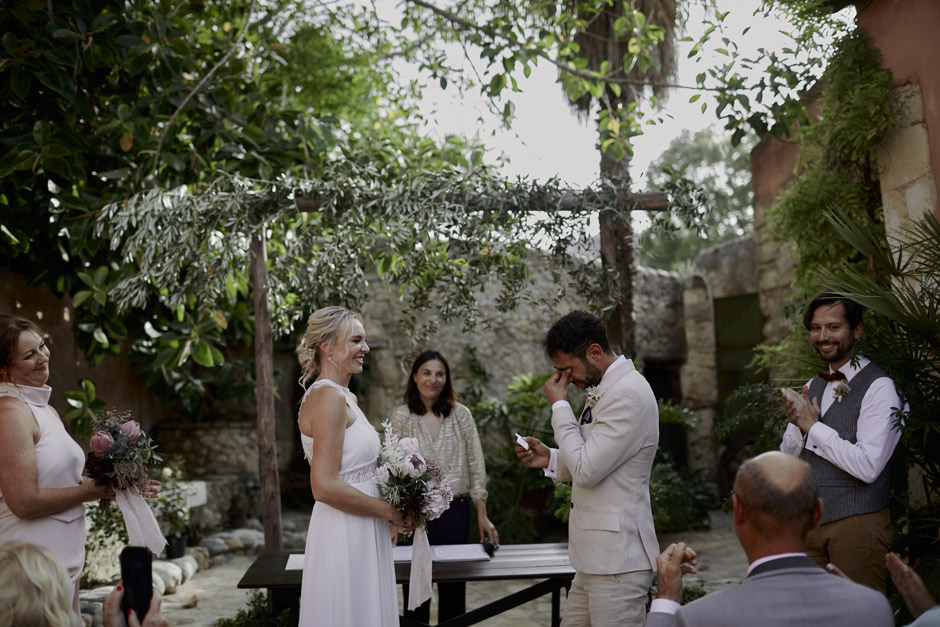The ceremony - the vows