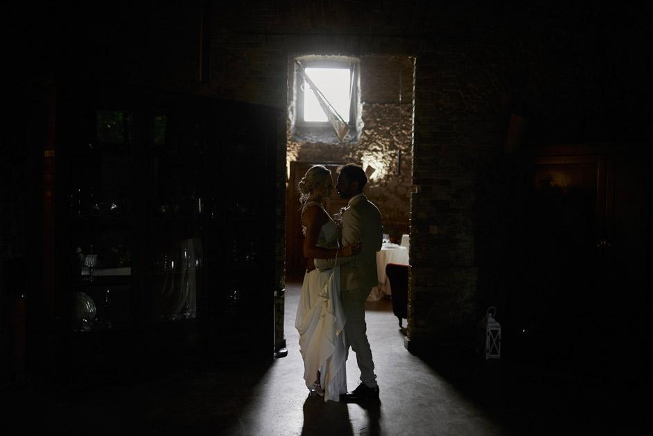 ritratti degli sposi all'interno della sala antica del Convento di San Giuseppe