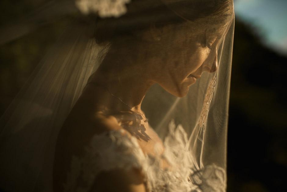 ritratto creativo della sposa