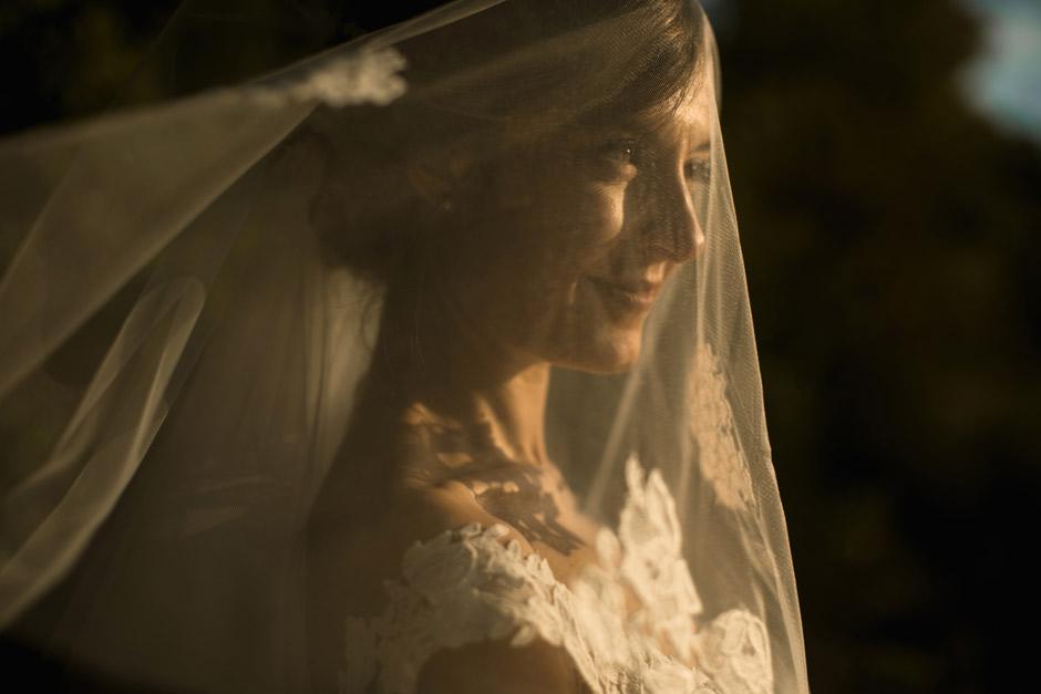 incantevole ritratto della sposa