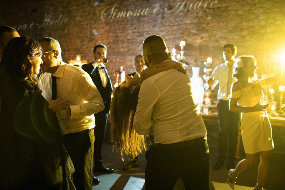 i balli durante il matrimonio di Andrea e Simona