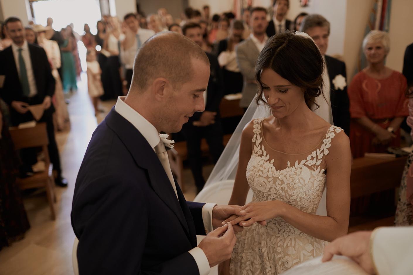 Francesca Floris lo scambio degli anelli