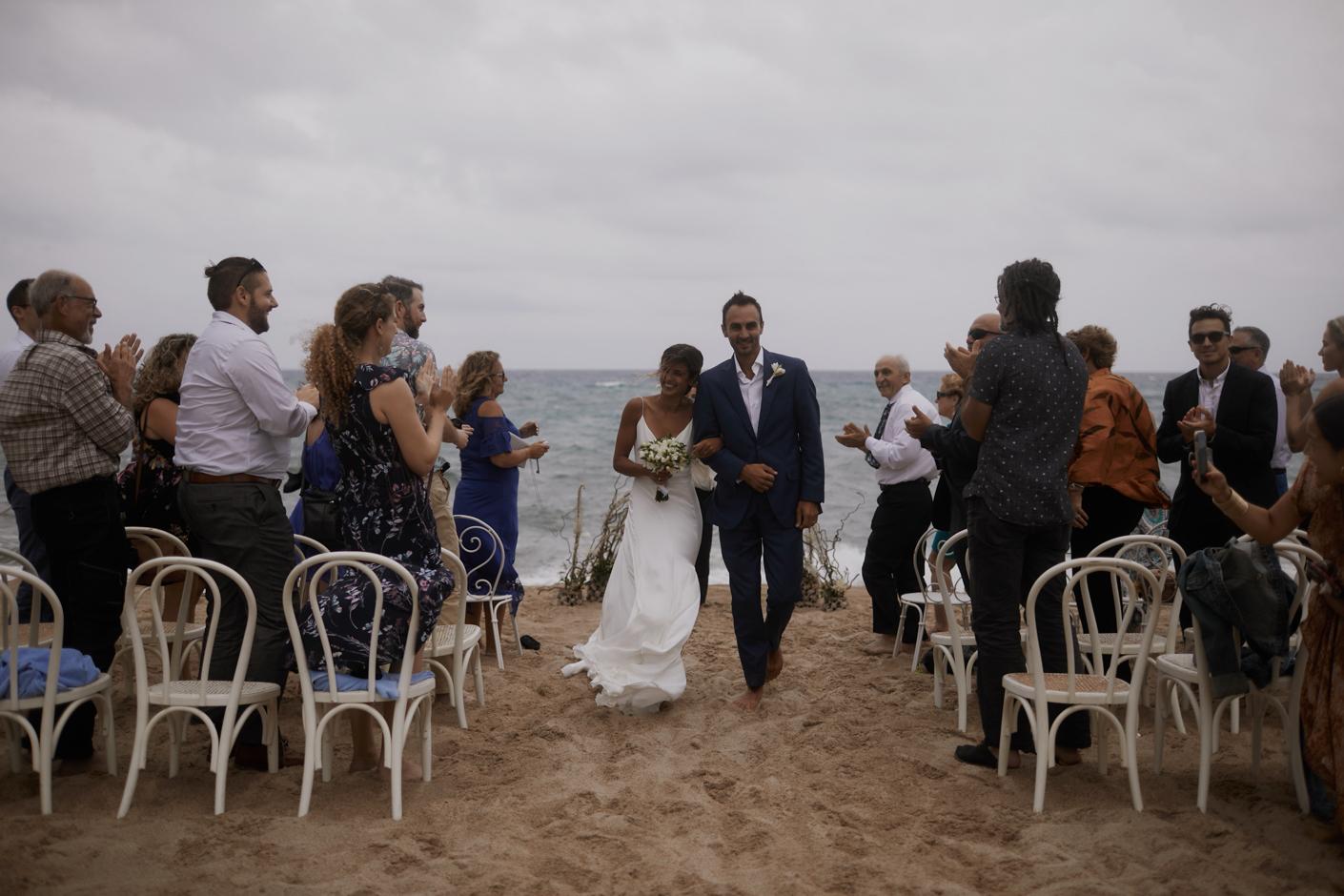 Francesca Floris cerimonia in Spiaggia a Orosei